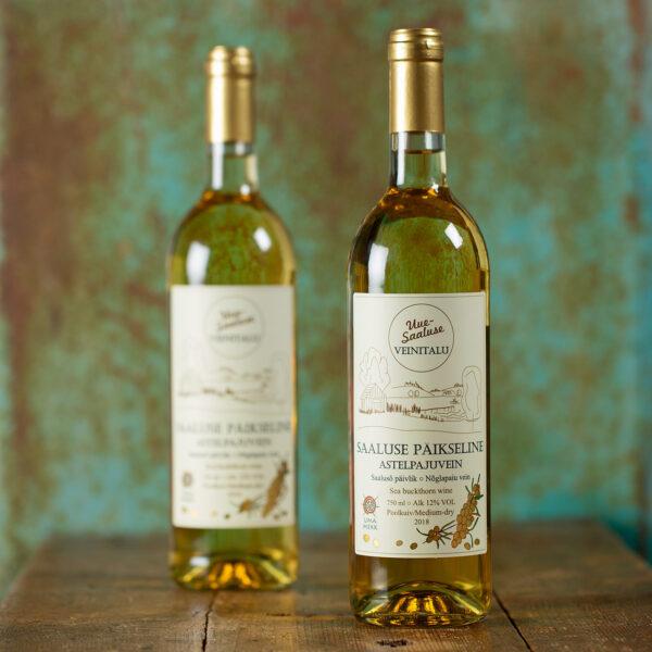 Saaluse Päikseline Astelpajuvein - Uue-Saaluse veinitalu