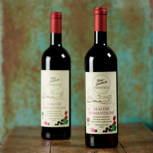 Saaluse Romantiline Mustsõstra-vaarikavein - Uue-Saaluse veinitalu